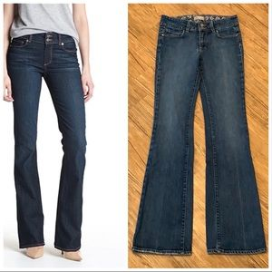 Paige Hidden Hills High Rise Bootcut Stretch Jeans